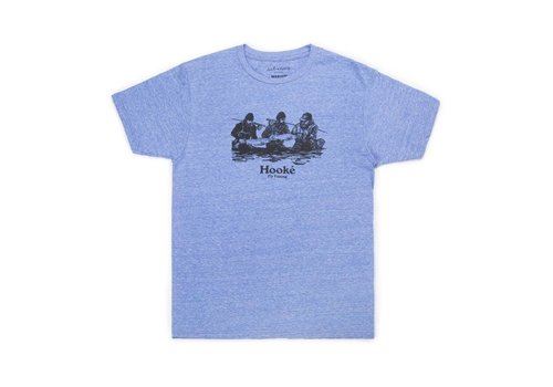 T-Shirt Double Header Neige Royale