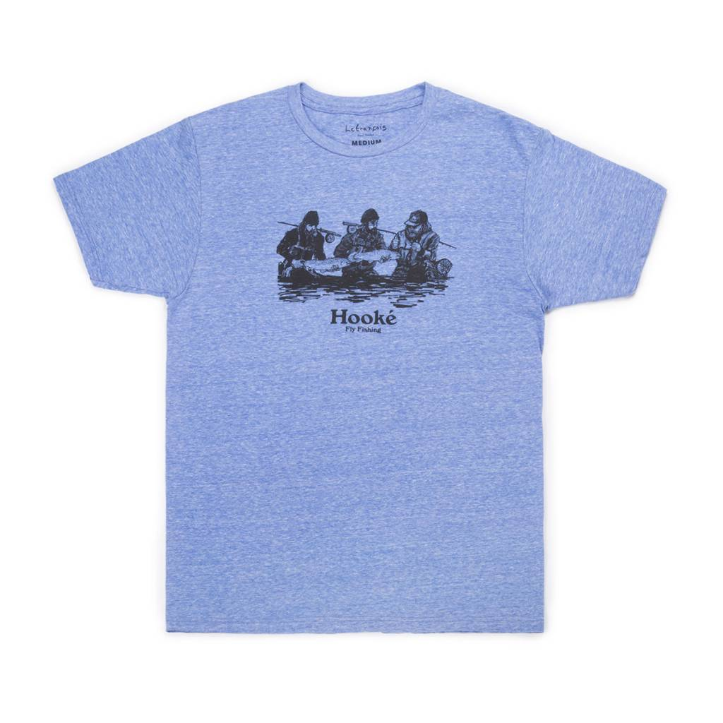 Double Header T-Shirt Royal Snow