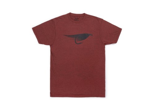 Fly T-Shirt Brick Black Heather