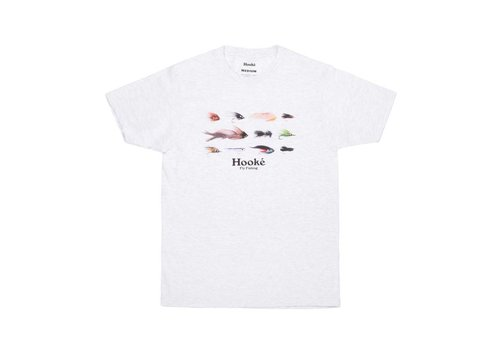 Season's Flies T-Shirt Ash Grey