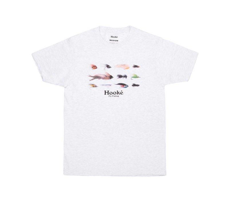 T-Shirt Season's Flies Gris Cendré