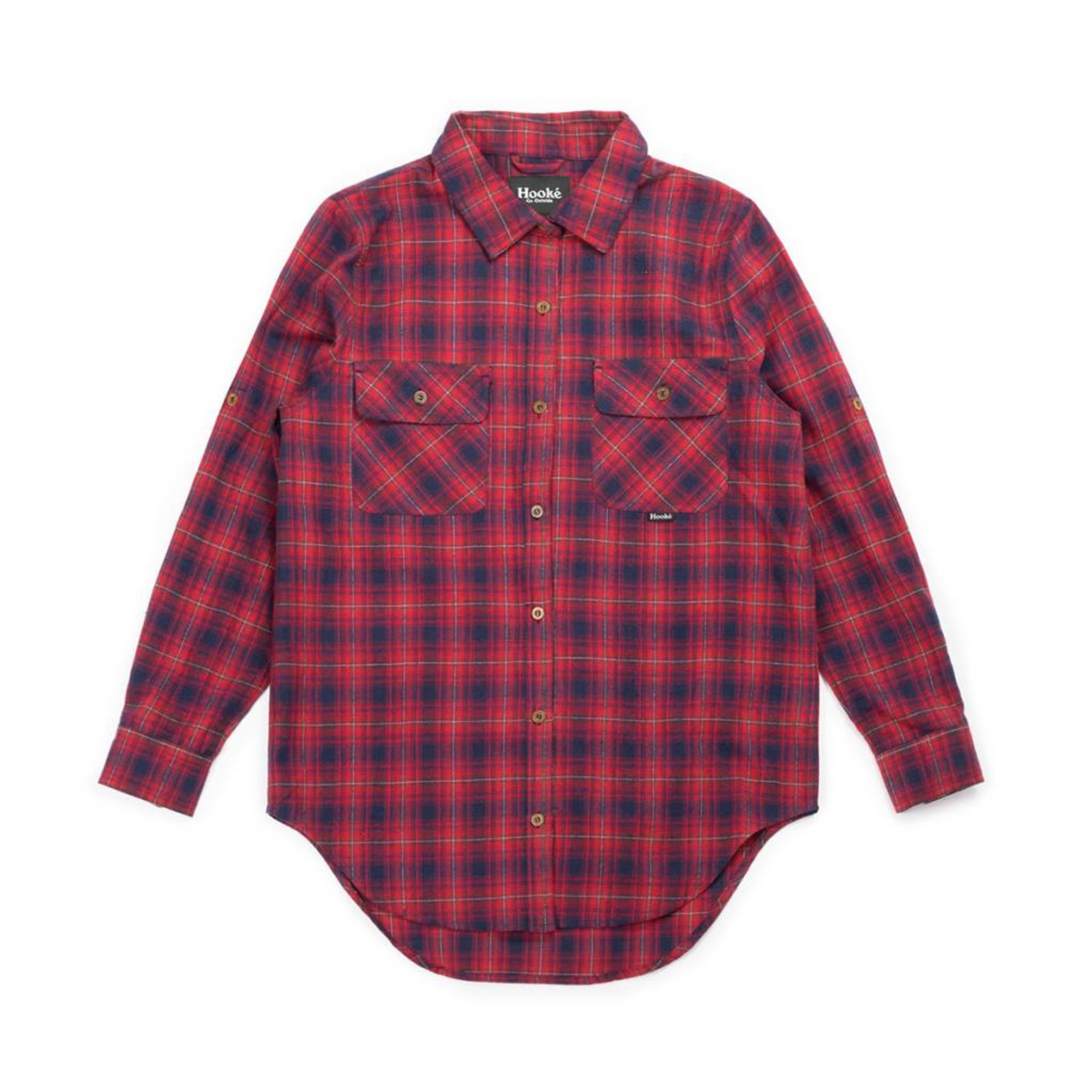 2ed902b5e8c Women s Skeena Shirt Navy   Red Plaid