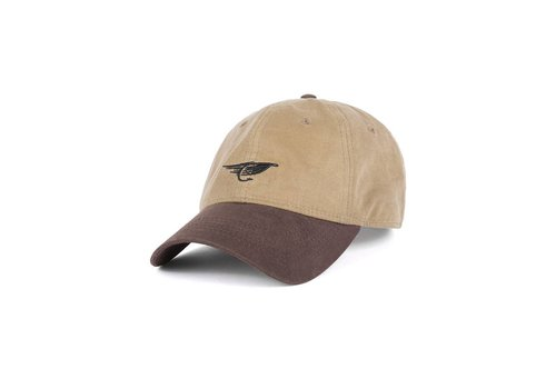 Fly Waxed Dad Hat Sable et Brun