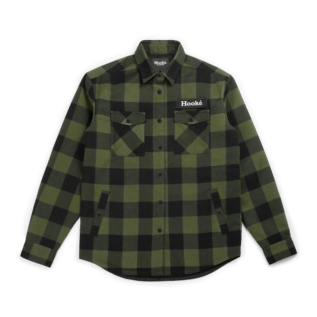Canadian Shirt Forest Olive & Black