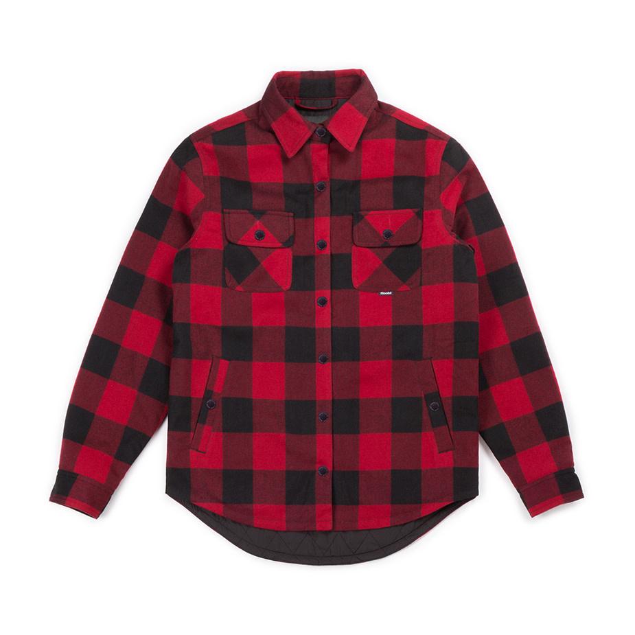 Women's Canadian Shirt Red & Black