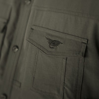 Fisherman Shirt Military Green