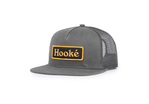 Patch Trucker Hat Charcoal