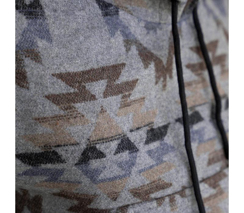 Poncho Navajo Charbon