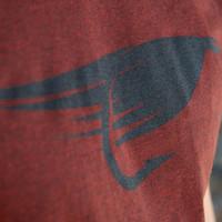 Fly T-Shirt Brick Black Heather