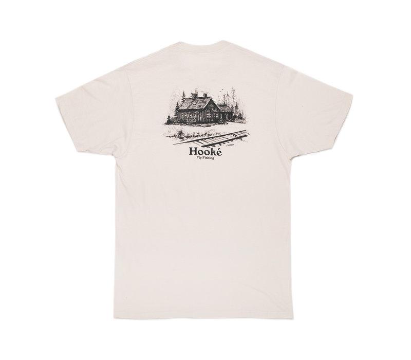 T-Shirt Station de Train Crème