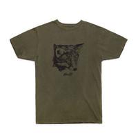 Fox T-Shirt Vintage Olive