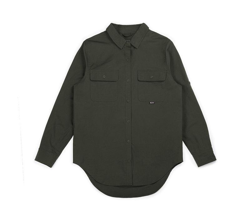 Chemise Pêcheuse Vert Militaire