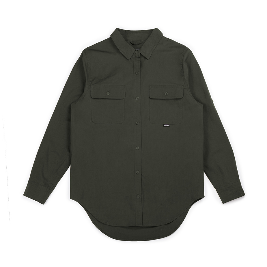 Fisherwoman Shirt Military Green