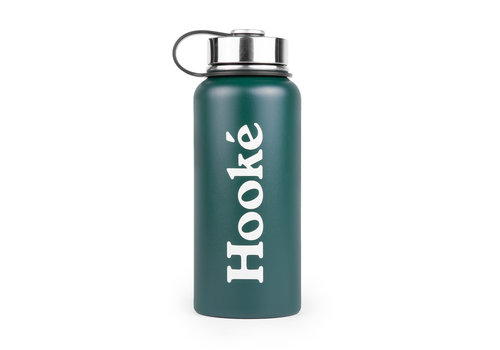 32 oz Hooké Bottle Forest Green