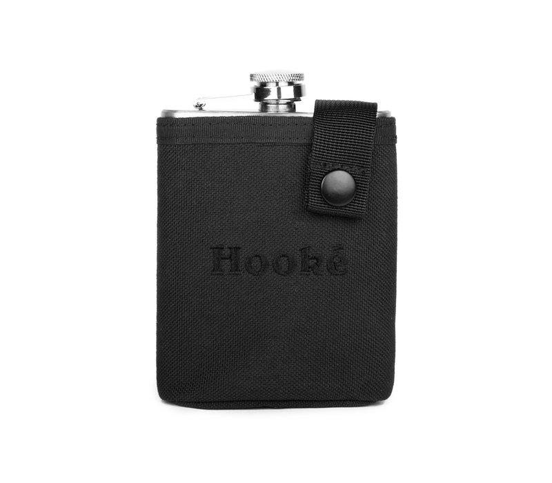Hooké Hip Flask Matte Black