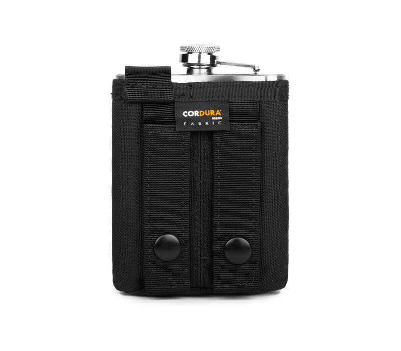 Hooké Hip Flask Matte Black