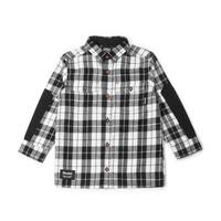 Chemise à carreaux charbon pour enfant