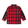 Plaid Shirt for Kids Red