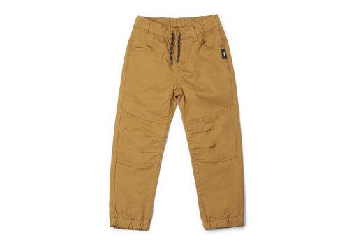 Pantalons jogger jaune Hooké pour enfant