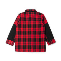 Plaid Shirt for Kids Red