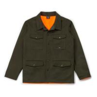 Manteau de Chasse Réversible Olive