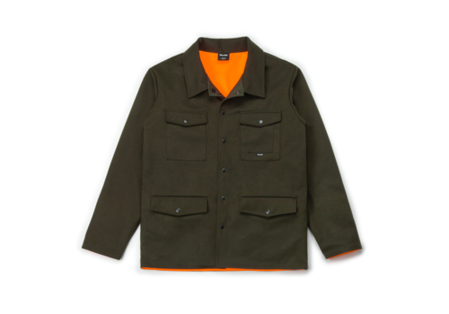 Reversible Hunting Jacket Olive