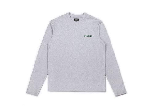 T-Shirt Salmo Manches Longues Gris Chiné