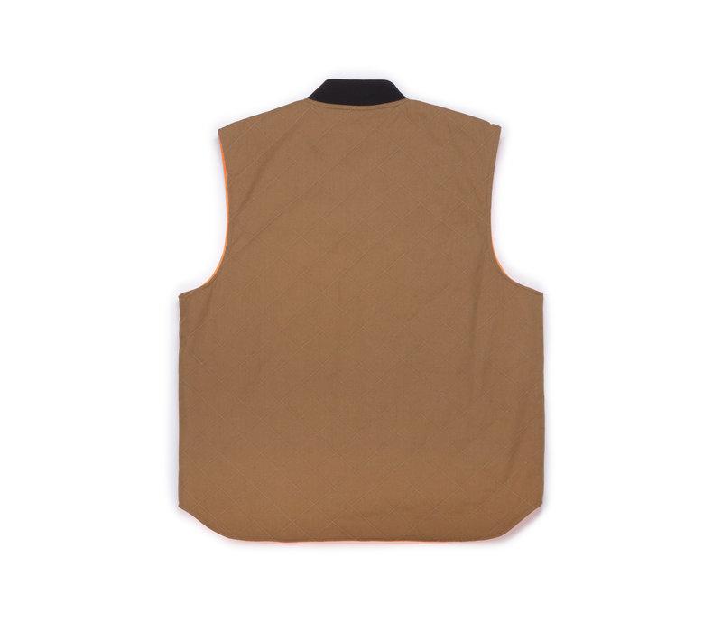 Reversible Utility Vest Caramel