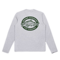 Salmo Long Sleeve Tee Heather Grey