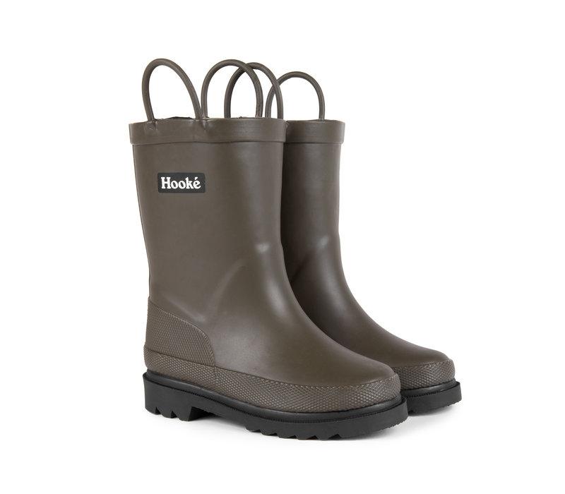 Rain Boots for kids Olive