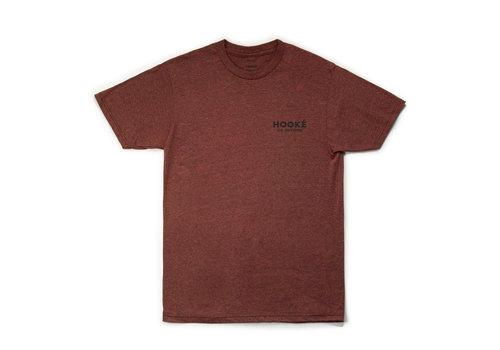 T-Shirt Loup Brique