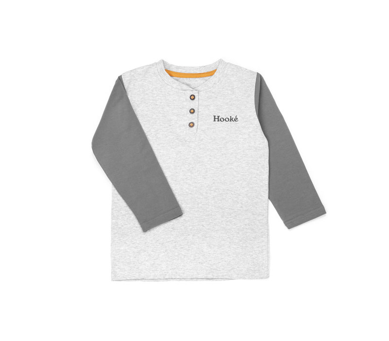 Henley Bear for Kids Grey