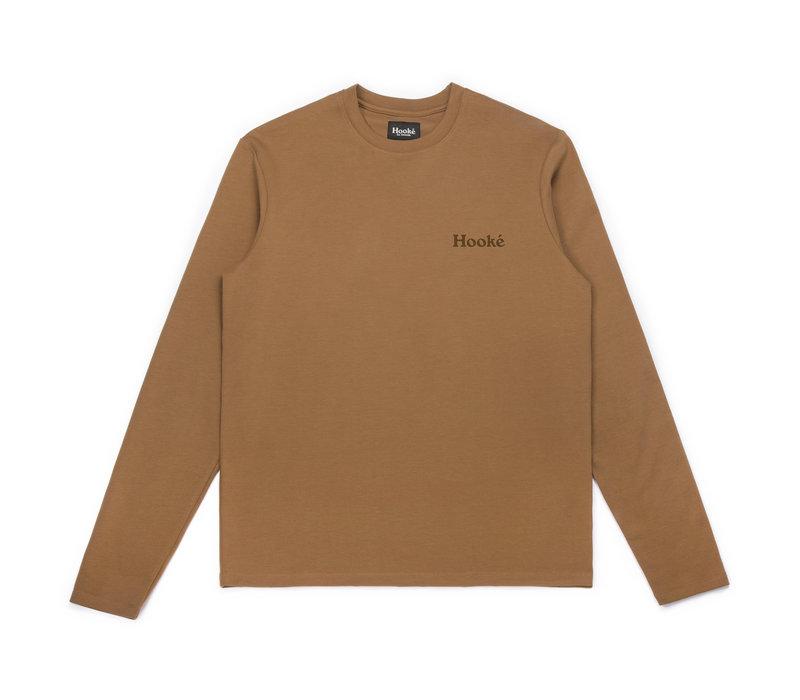 T-Shirt Bernache à Manches Longues Chameau