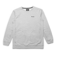 Hooké Pocket Crewneck Heather Grey