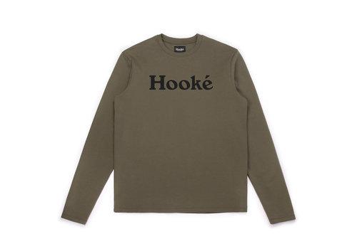 Hooké T-Shirt à Manches Longues Original Olive