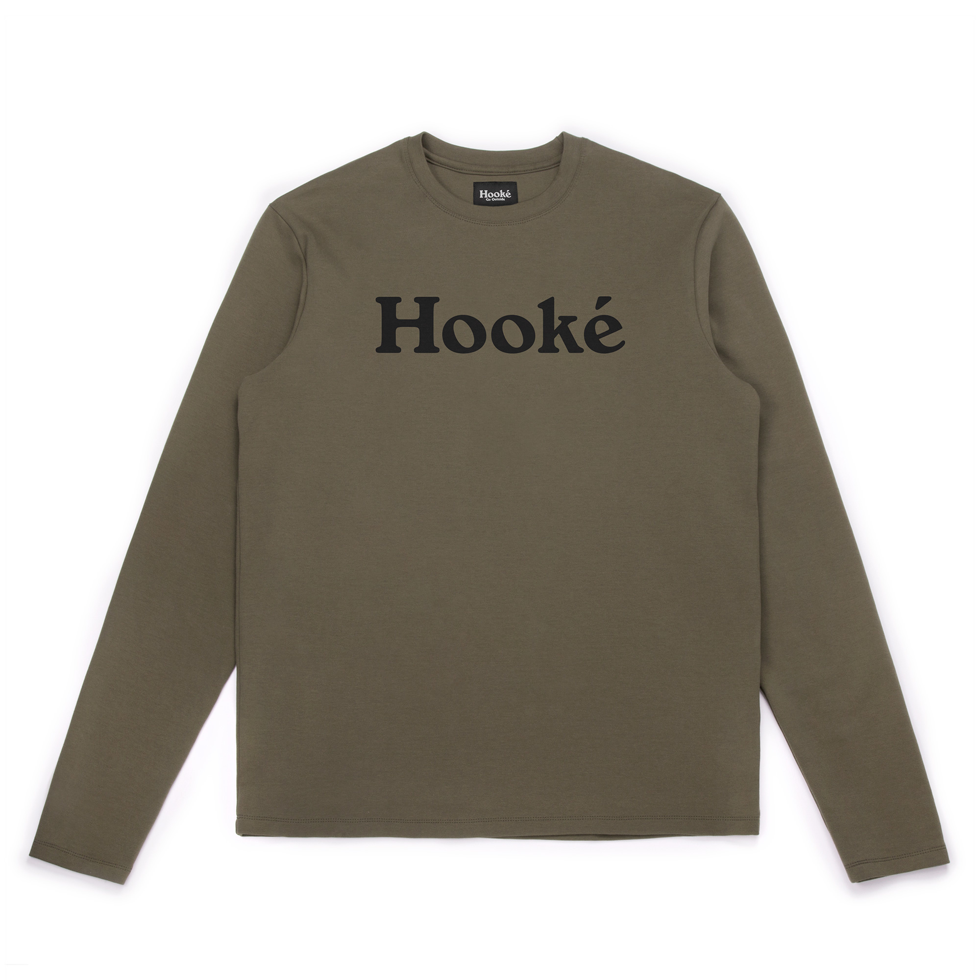 Hooké Original Long Sleeve Tee Olive