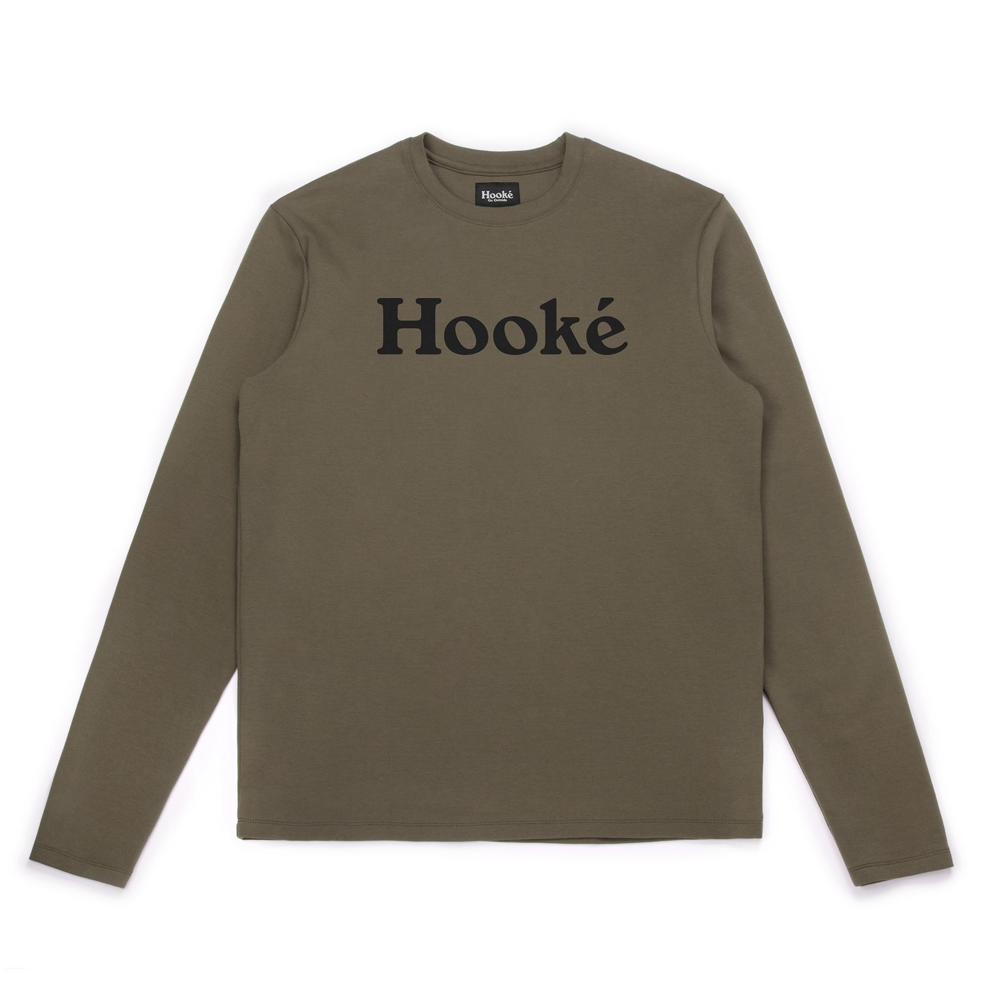 Hooké Original Long Sleeve Tee Olive