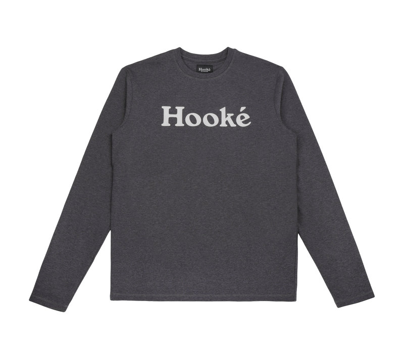 Hooké Original Long Sleeve Tee Black Heather