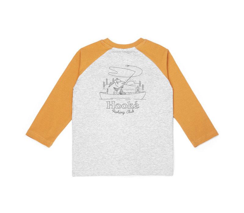 Raglan Fishing Club Pour Enfant Jaune