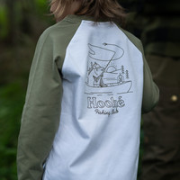 Raglan Fishing Club Pour Enfant Vert