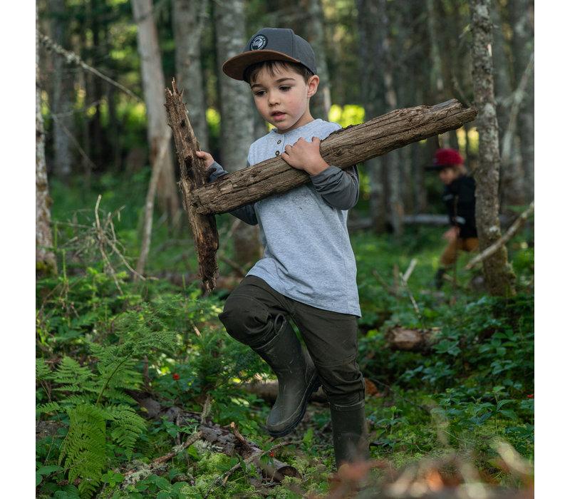 Pantalons Jogger Olive Hooké pour enfant