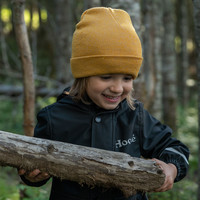 Beanie for kids yellow