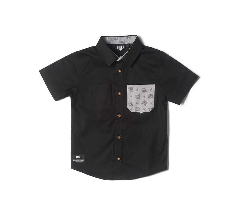 Hooké shirt for kids black