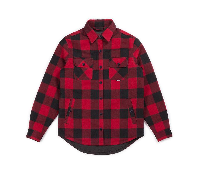 Chemise Canadienne pour femmes Rouge et Noir