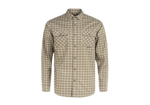 Hooké York Shirt Olive Plaid