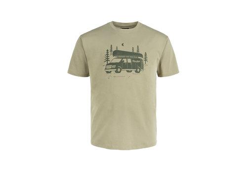 Hooké T-Shirt Van Hooké Olive Clair
