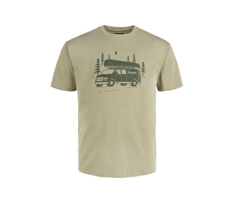 T-Shirt Van Hooké Olive Clair