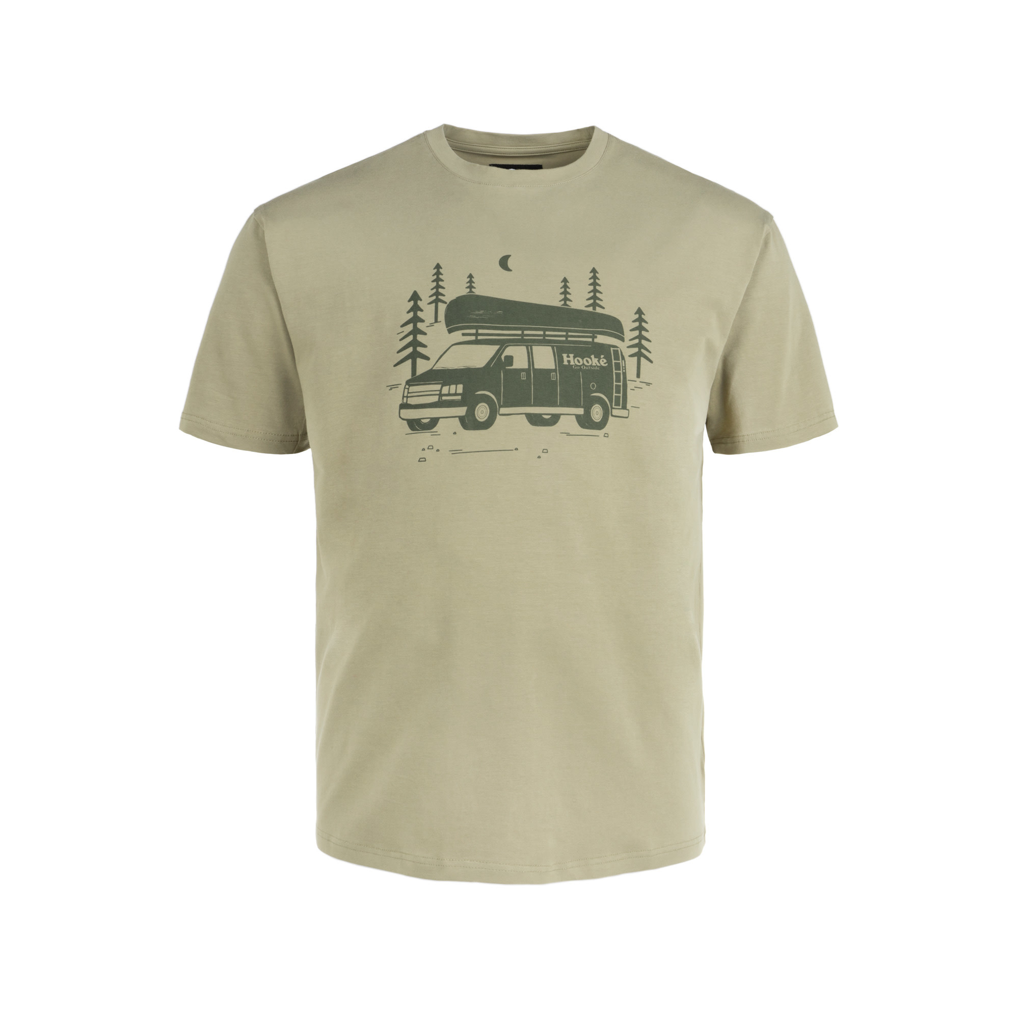 Hooké Van T-Shirt Light Olive