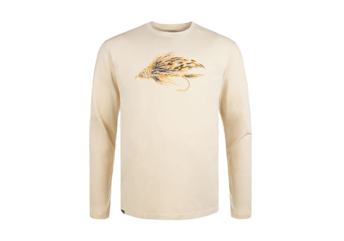 Hooké T-Shirt Manches Longues Muddler Beige
