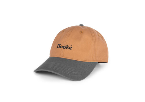 Hooké Original Dad Hat Coyote Brown & Charcoal
